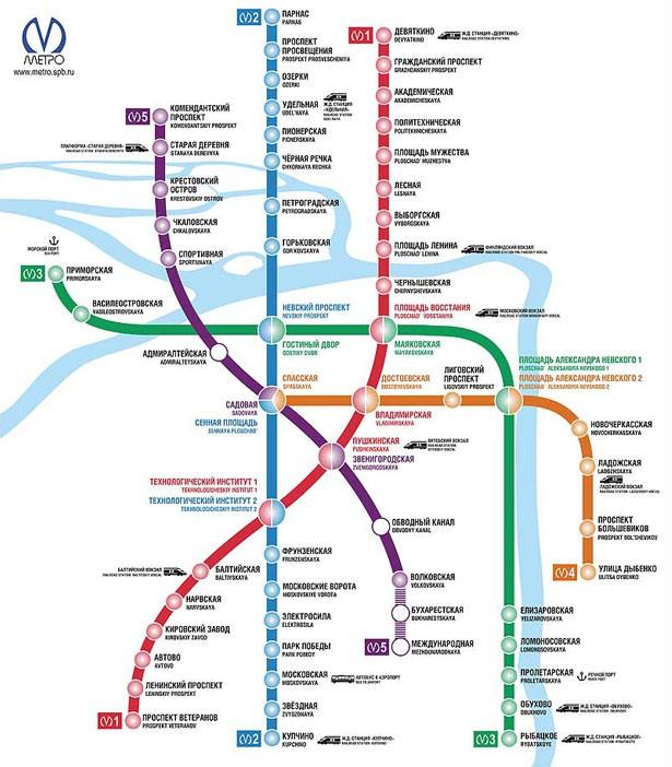 Схемы метро. Без них никак.